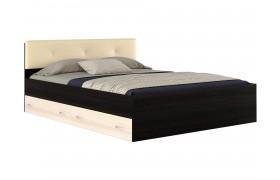 Кровать с ящикам и матраом Promo B Cocos Виктория ЭКО-П (160х2