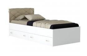 Кровать Кровать с ящиками и матрасом Promo B Cocos Виктория-П (90х200)