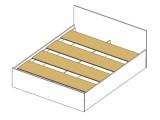 Кровать с блоком и матрасом Promo B Cocos Виктория-МБ (180х200) купить