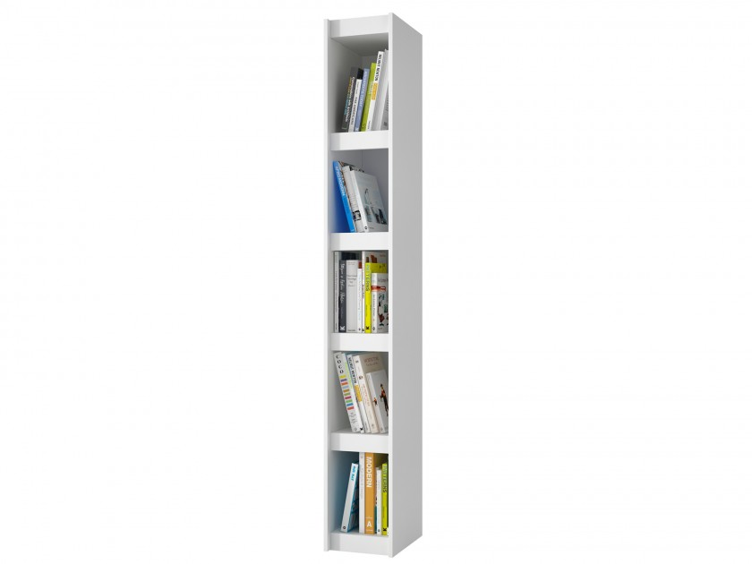 Стеллажи для книг с дверцами