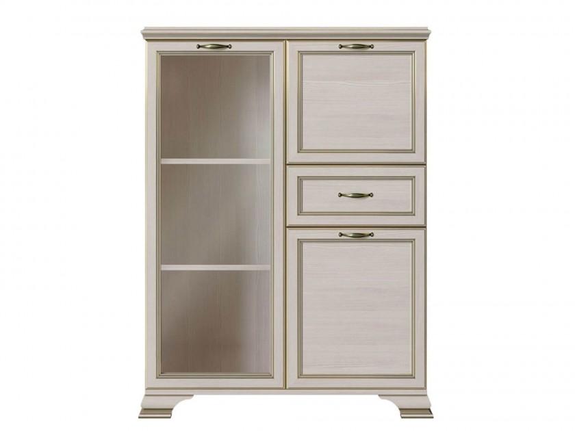 шкаф Шкаф низкий 1 стеклодверь Сиена Сиена шкаф 1 стеклодверь и ящик прато