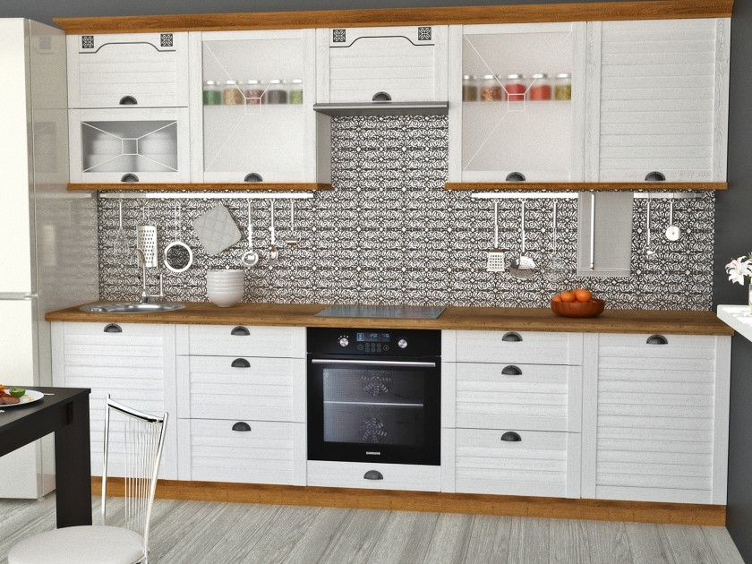кухонный гарнитур Кухня Кантри 3000 Кантри