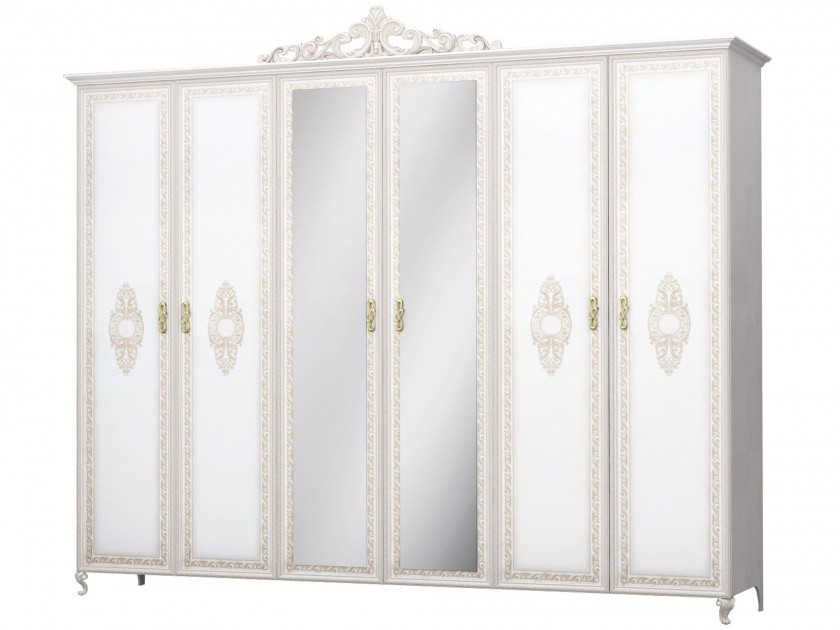 распашной шкаф Шкаф 6-ти дверный с доводчиками Медея Медея медея мамт