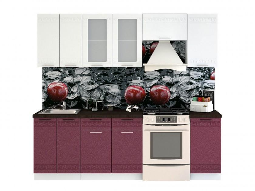 кухонный гарнитур Кухня Греция в цвете каркаса Белый