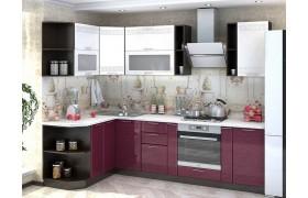 Кухонный гарнитур Греция в цвете каркаса Венге