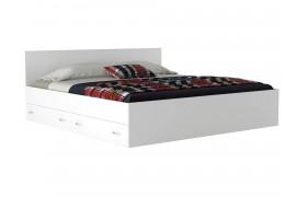 Кровать с ящикам и матраом ГОСТ Виктория (180х200)