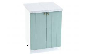 Шкаф Прованс в цвете Голубой