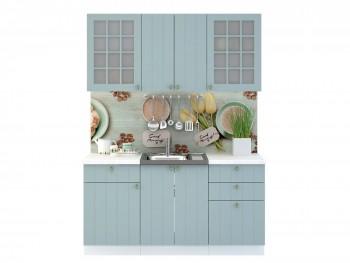 Кухонный гарнитур Прованс в цвете Голубой