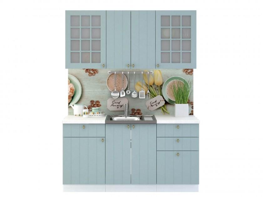 кухонный гарнитур Кухня Прованс Прованс в цвете Голубой
