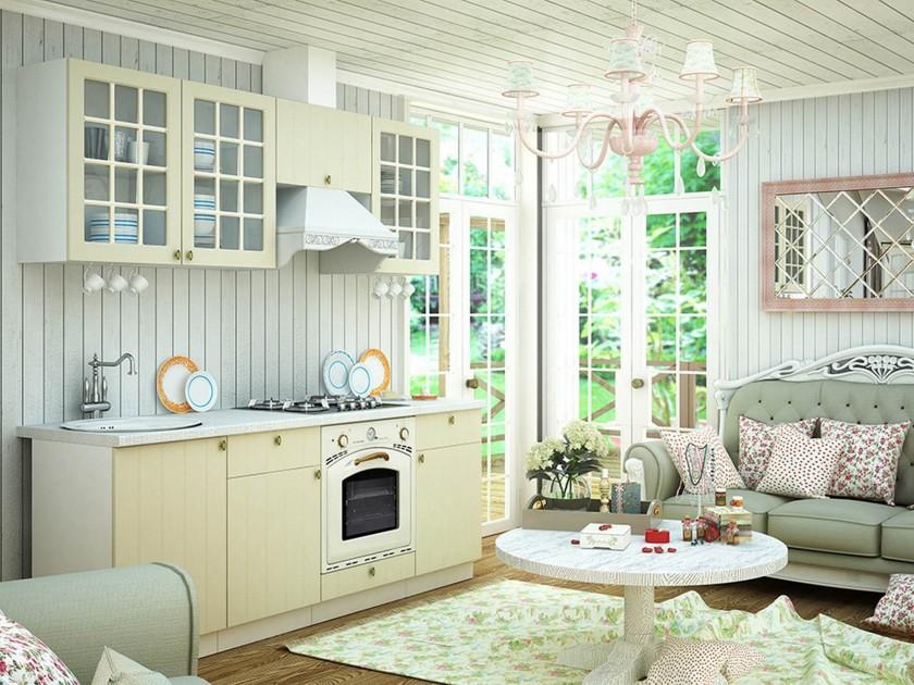 кухонный гарнитур Кухня Прованс Прованс в цвете Ваниль кухня form ваниль мокко на заказ