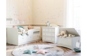Детский гарнитур Прованс в цвете Белый