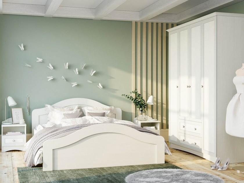 спальный гарнитур Спальня Прованс Прованс в цвете Белый