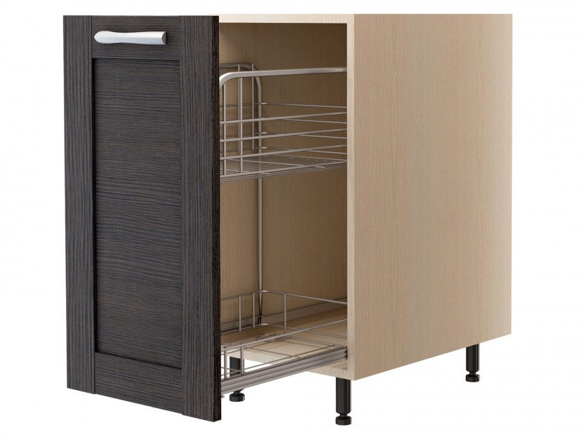 шкаф Шкаф напольный с корзиной Selena рамка 40 см Selena рамка шкаф напольный linna с 1 ящиком 40 см