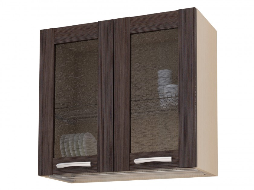 цена кухонный гарнитур Шкаф-витрина с сушкой Selena рамка 80 см Selena рамка