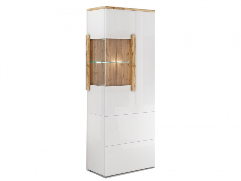 витрина Шкаф-витрина 2 ящика, 2 двери правая Сахара Сахара шкаф зодиак 2 распашные двери