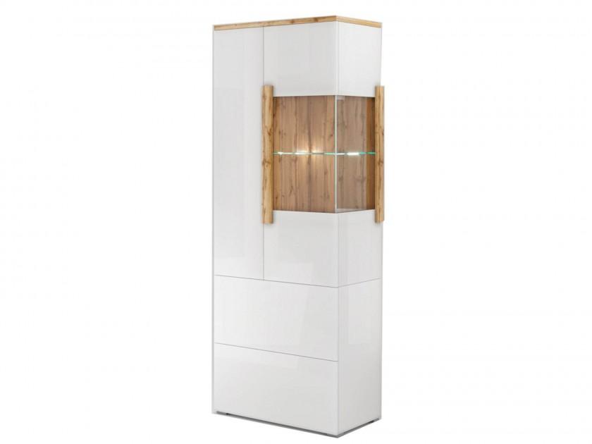 витрина Шкаф-витрина 2 ящика, 2 двери левая Сахара Сахара