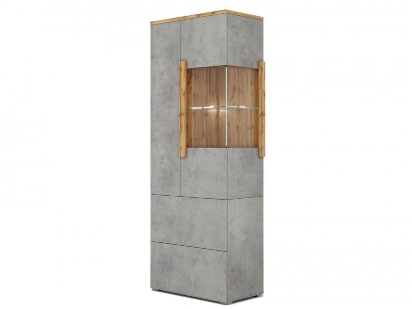 цена на витрина Шкаф-витрина 2 ящика левая Римини Римини