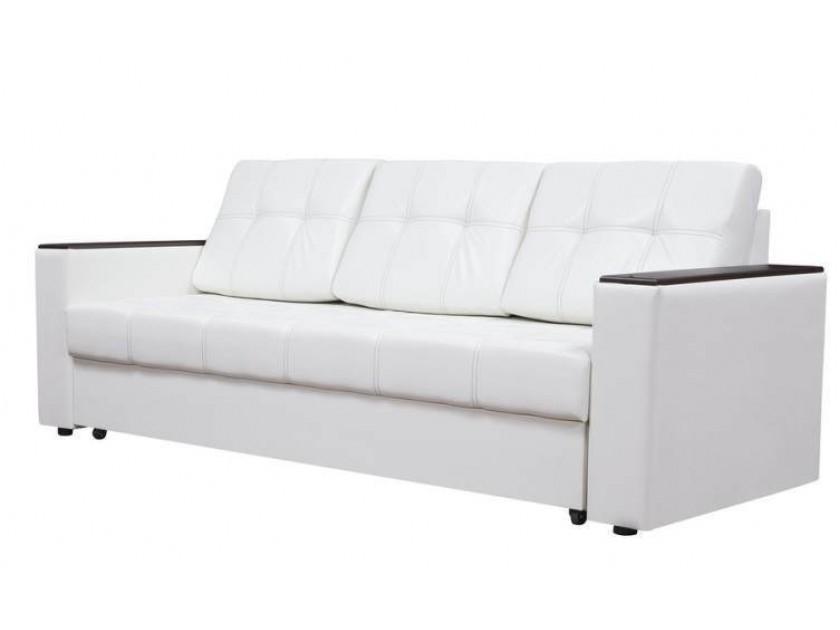 диван Диван-кровать Атлант ДН белый кожзам Атлант
