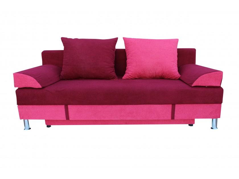 диван Диван-кровать Рига-Люкс ППУ (розово-бордовая астра)