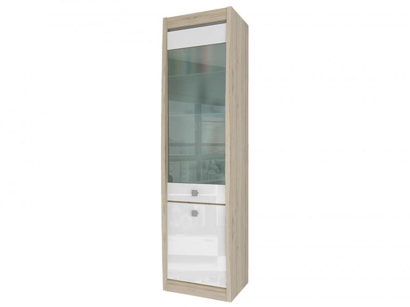 распашной шкаф Шкаф 2-х дверный со стеклом Ксено Ксено