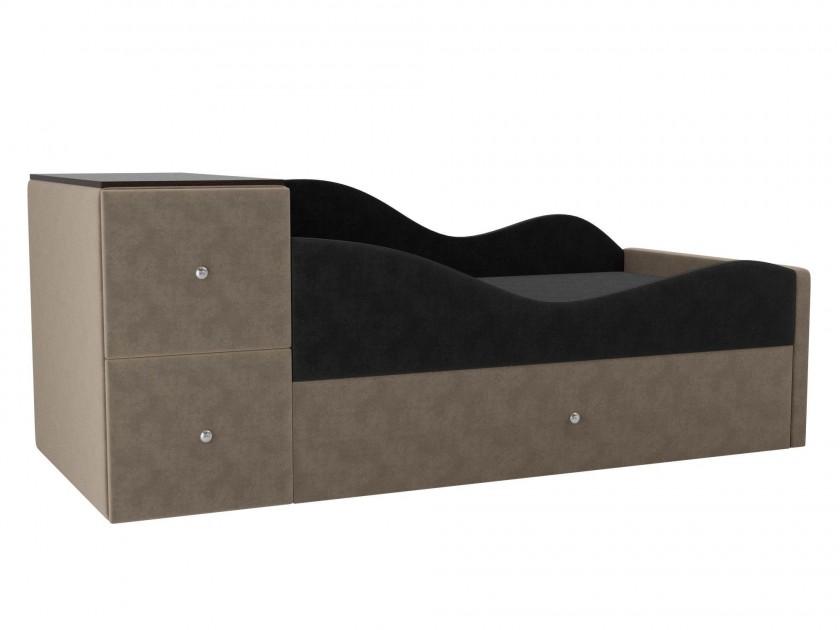 цена на кровать Детская кровать Дельта Правый угол Дельта