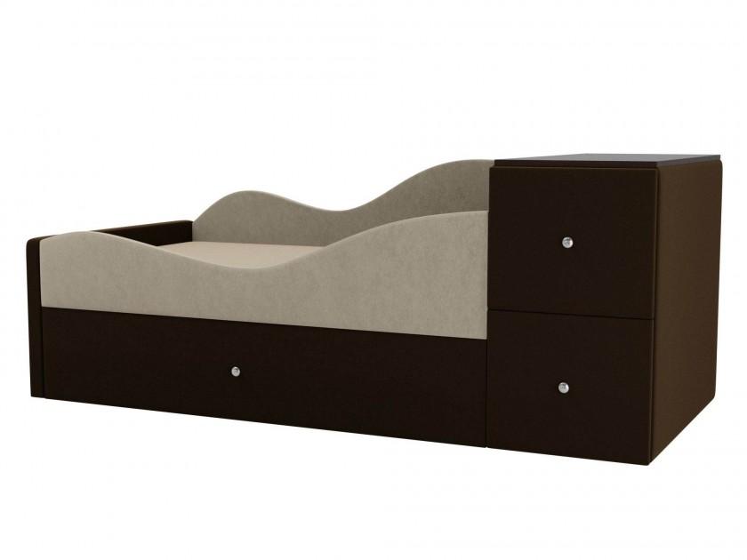 цена на кровать Детская кровать Дельта Левый угол Дельта