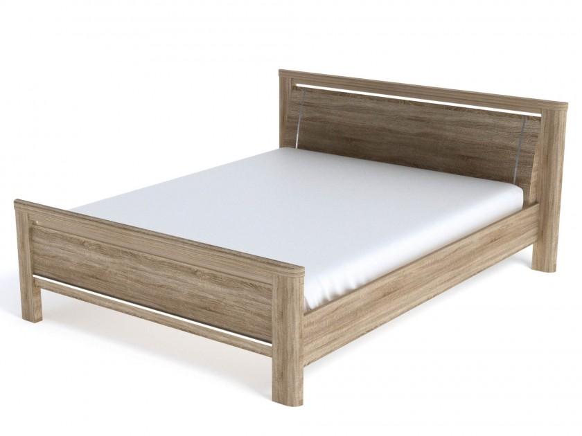 цена на кровать Кровать Магнолия (160х200) Магнолия в цвете Дуб Бардолино