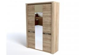 Распашной шкаф Магнолия в цвете Дуб Бардолино