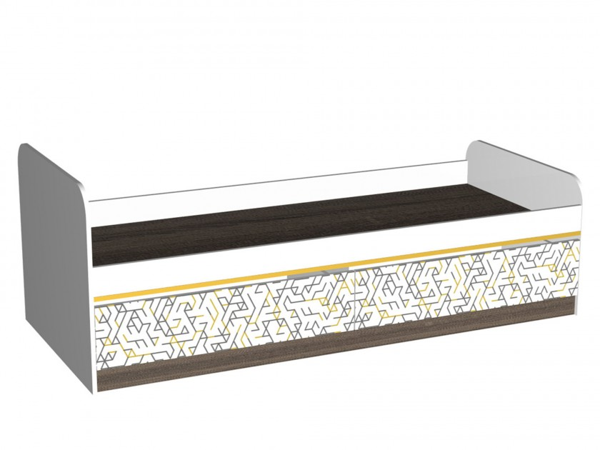 кровать Кровать с выдвижными ящиками Жираф (80х190) Жираф пирамидка жираф b kids