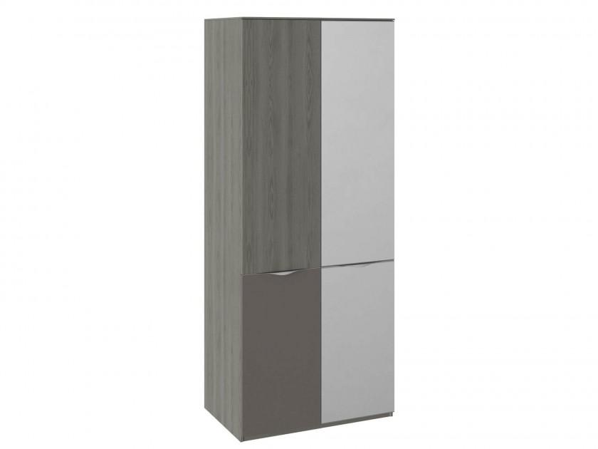 распашной шкаф Шкаф для одежды с 1 зеркальной дверью и 1 ЛКП Либерти Либерти