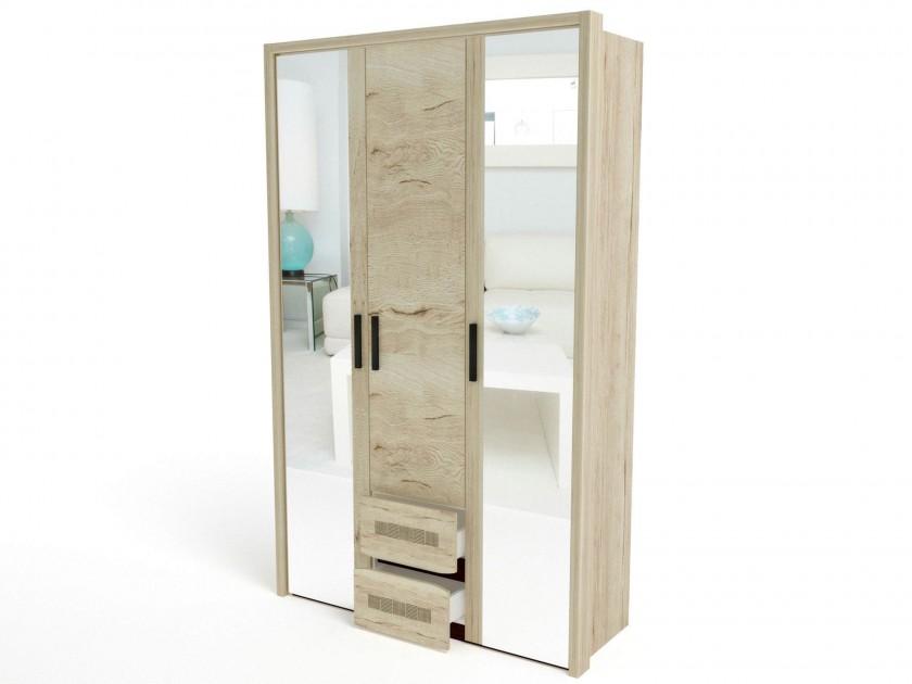 Шкаф 3-х дверный с обкладкой Мале Мале