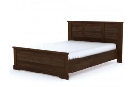 Кровать Кантри в цвете Орех Рибек темный