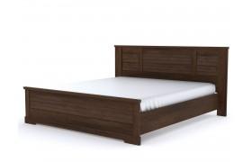 Кровать Кантри цвете Орех Рибек темный