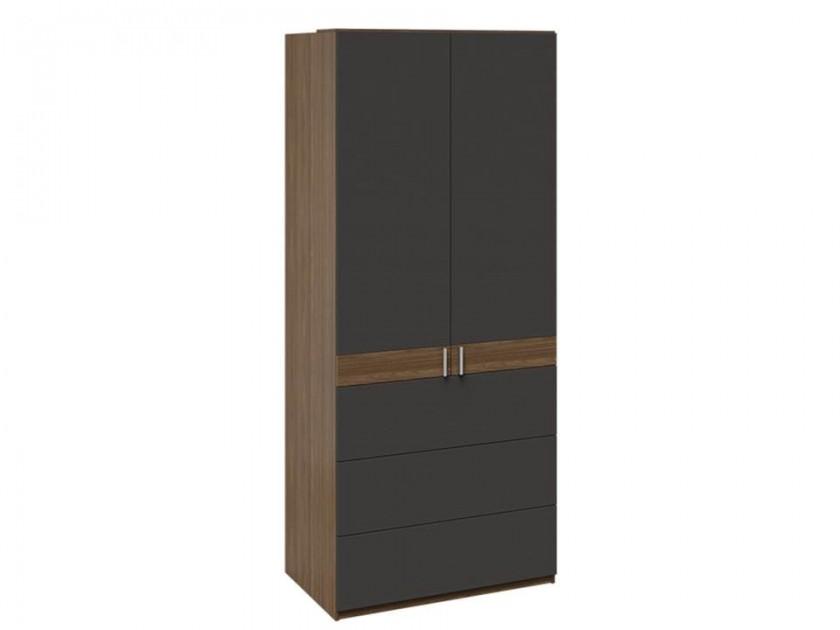 распашной шкаф Шкаф комбинированный с 3 ящиками Харрис Харрис