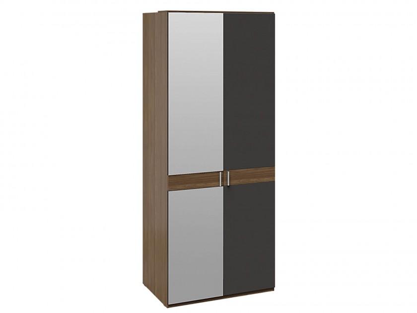 распашной шкаф Шкаф для одежды с 1 глухой и 1 зеркальной дверями Харрис Харрис