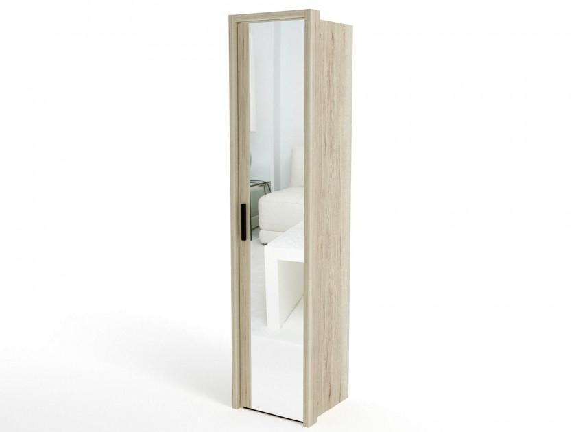 распашной шкаф Шкаф 1-но дверный (4 полки) с обкладкой Мале