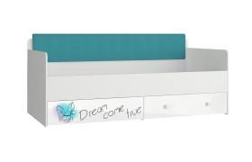 Кровать Кровать с мягким элементом Модерн - Стиль (90х190)