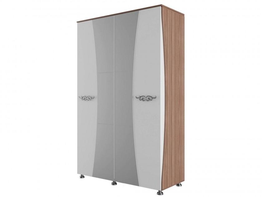 распашной шкаф Шкаф для одежды и белья 4-х ств. Лагуна Лагуна стоимость