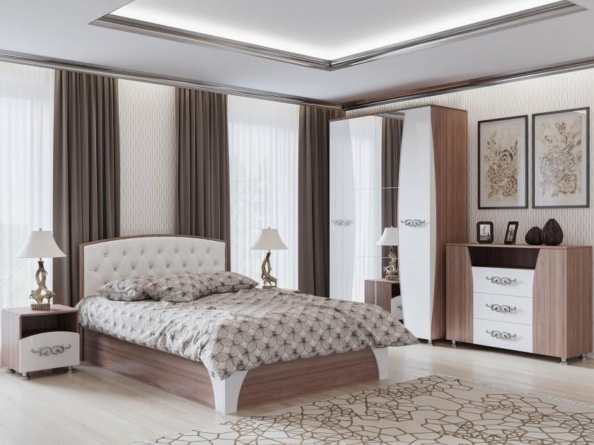 спальный гарнитур Спальня Лагуна Лагуна цена и фото