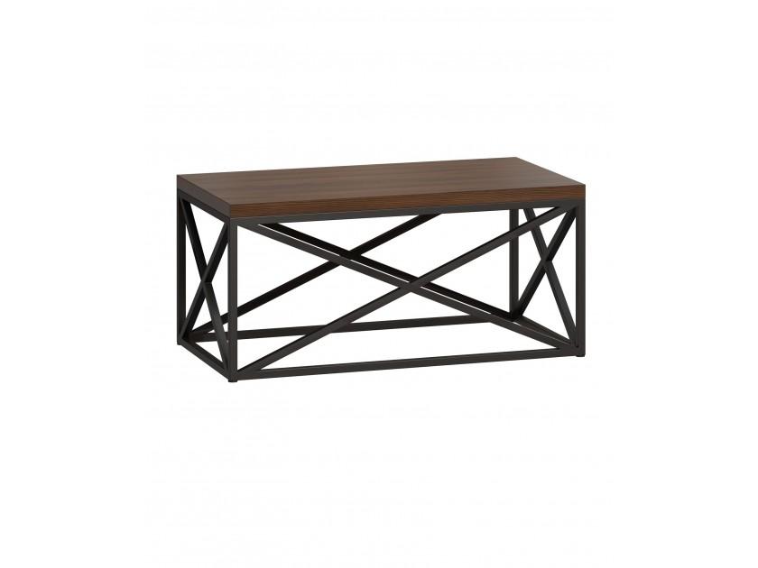 журнальный стол Стол журнальный лофт Бервин 6 коричневый Бервин стол журнальный esf j1692c