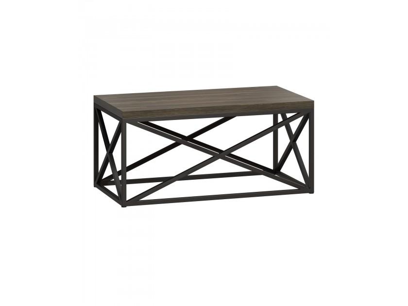 журнальный стол Стол журнальный лофт Бервин 6 серый Бервин стол журнальный esf j1692c