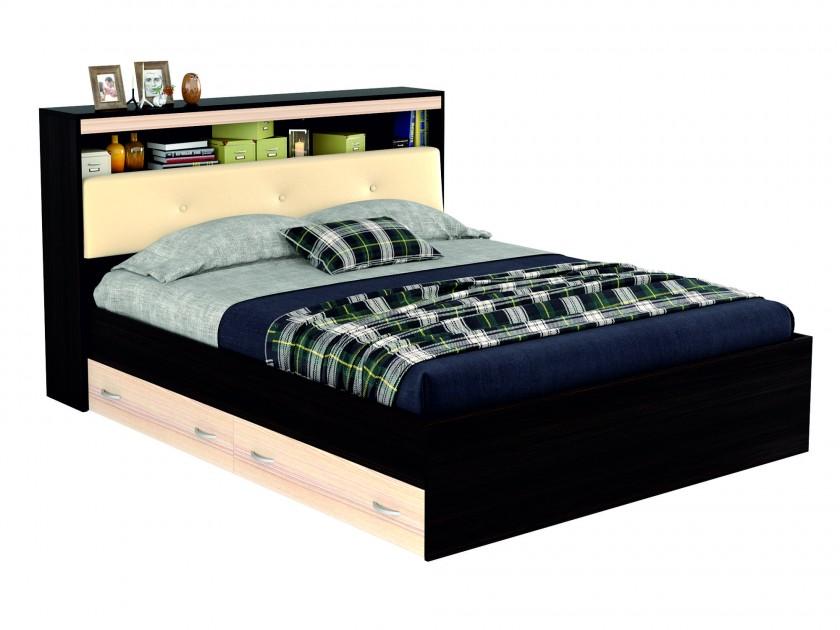 кровать Кровать с блоком, ящиками и комплектом для сна Виктория ЭКО-П (160х200) Виктория