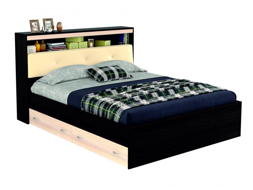 кровать Кровать с блоком, ящиками и комплектом для сна Виктория ЭКО-П (140х200) Виктория