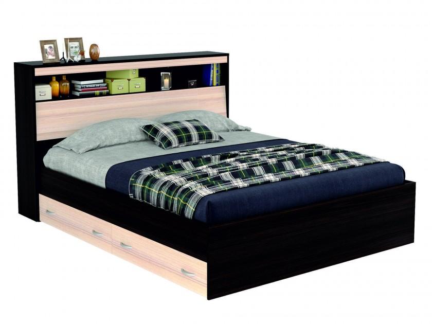 кровать Кровать с блоком, ящиками и комплектом для сна Виктория (140х200) Виктория