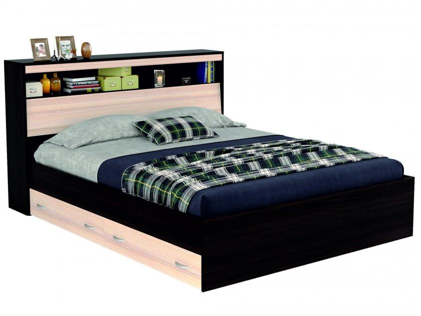 кровать Кровать с блоком, ящиками и комплектом для сна Виктория (180х200) Виктория