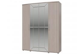 Распашной шкаф Шкаф 4-х дверный Амели