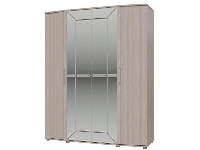 распашной шкаф Шкаф 4-х дверный Амели Шкаф 4-х дверный Амели