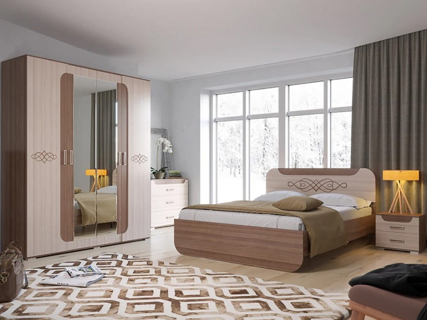 цена на спальный гарнитур Спальня Пальмира Пальмира
