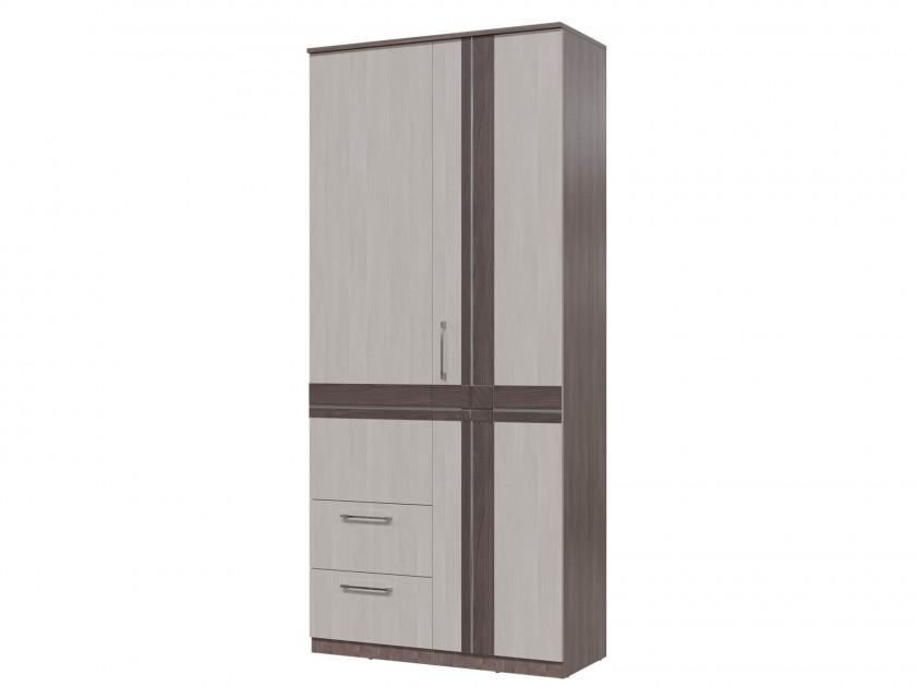 цена на распашной шкаф Шкаф 2-х дверный с ящиками Презент Презент