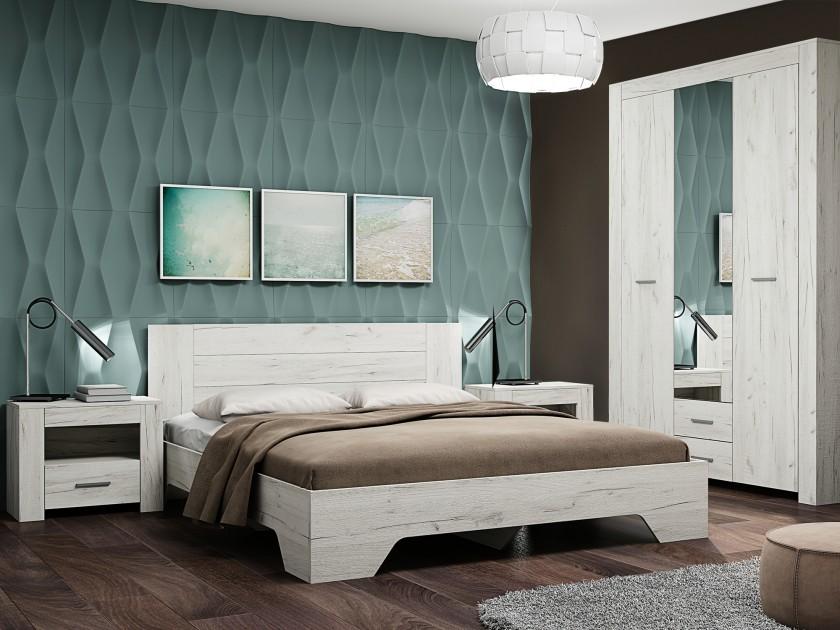 спальный гарнитур Спальня Квадро-1 Квадро-1
